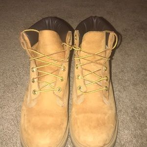 6 inch Timberland boots.